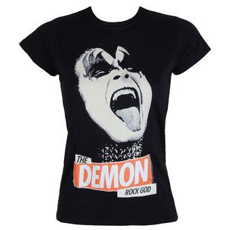 Majica metal ženska Kiss - Rock God - LOW FREQUENCY, LOW FREQUENCY, Kiss