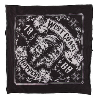 Marama West Coast Choppers - SKULL 13 - BLACK, West Coast Choppers