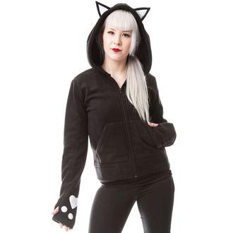 Majica s kapuljačom ženska  - DARK KITTY - CUPCAKE CULT - POI236