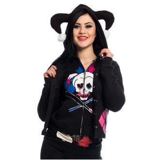Majica s kapuljačom ženska - HARLEY REBEL - POIZEN INDUSTRIES