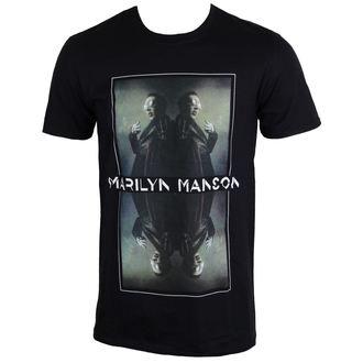 Majica metal muška Marilyn Manson - Mirrored - ROCK OFF, ROCK OFF, Marilyn Manson