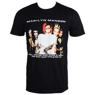 Majica metal muška Marilyn Manson - Rock Is Dead - ROCK OFF, ROCK OFF, Marilyn Manson