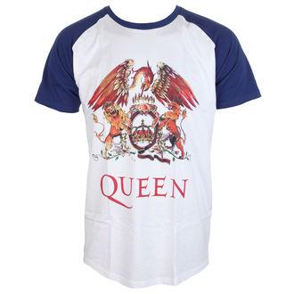 Majica metal muška Queen - Classic Crest - ROCK OFF, ROCK OFF, Queen