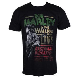 Majica metal muška Bob Marley - Rastaman Vibration - ROCK OFF, ROCK OFF, Bob Marley