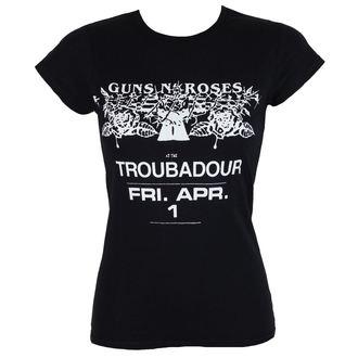 Majica metal ženska Guns N' Roses - Troubadour - ROCK OFF, ROCK OFF, Guns N' Roses