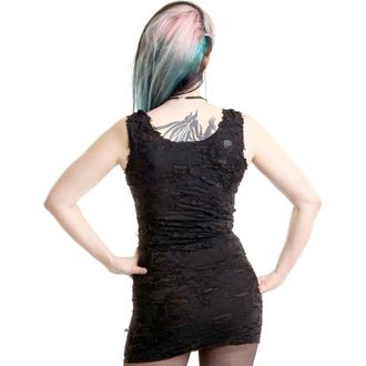 Majica bez rukava ženska Poizen industries - SHRED BLACK, POIZEN INDUSTRIES
