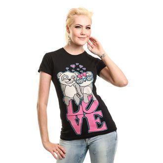 Majica ženska - LOVE TO HATE - KILLER PANDA, KILLER PANDA