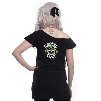 Majica ženska  - VOODOO DRAGON OFF SHOULDER - CUPCAKE CULT, CUPCAKE CULT