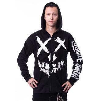 Majica s kapuljačom muška Suicide Squad - GRIN Black -