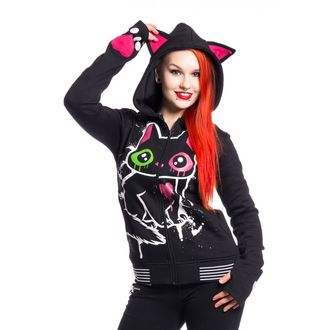 Majica s kapuljačom ženska - KITTY MASE - CUPCAKE CULT - POI342