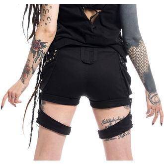 Ženske kratke hlače POIZEN INDUSTRIES - ASAMI - Crne, POIZEN INDUSTRIES