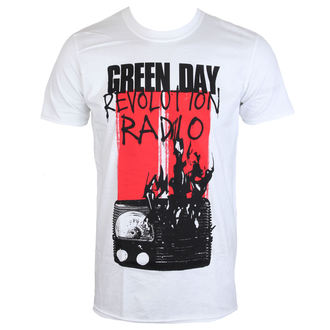 Majica metal muška Green Day - RADIO COMBUSTION - PLASTIC HEAD, PLASTIC HEAD, Green Day