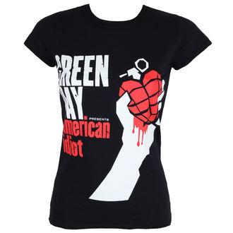 Majica metal ženska Green Day - AMERICAN IDIOT - PLASTIC HEAD, PLASTIC HEAD, Green Day