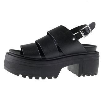 Ženske sandale ALTERCORE - Alisa - Crne, ALTERCORE