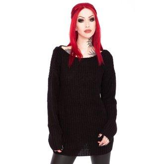 Džemper ženska KILLSTAR - Sinthya Knit - Black, KILLSTAR