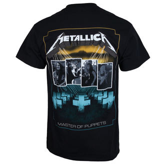 Majica metal muška Metallica - Master of Puppets Blue Poster -, Metallica