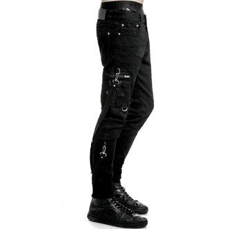 Muške hlače KILLSTAR - Death Trap - Crne, KILLSTAR