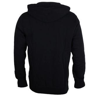 Majica s kapuljačom muška CONVERSE - CORE - crno, CONVERSE