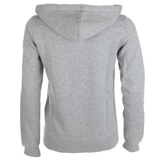 Majica s kapuljačom ženska - VINTAGE GREY - CONVERSE, CONVERSE