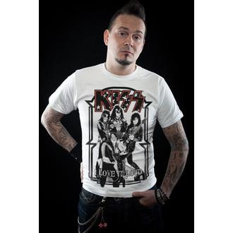 Majica metal muška Kiss - I Love It Loud - HYBRIS, HYBRIS, Kiss