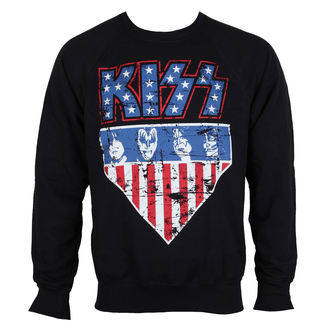 Majica dugi rukav muška Kiss - Stars & Stripes - HYBRIS, HYBRIS, Kiss