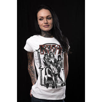 Majica metal ženska Kiss - I Love It Loud - HYBRIS, HYBRIS, Kiss