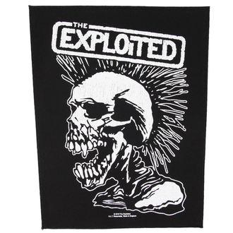Zakrpa  THE  EXPLOITED - VINTAGE SKULL - RAZAMATAZ, RAZAMATAZ, Exploited