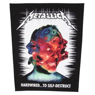 Zakrpa METALLICA - HARDWIRED TO SELF DESTRUCT - RAZAMATAZ, RAZAMATAZ, Metallica