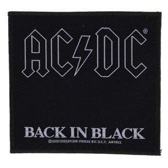 Zakrpa AC / DC - BACK IN BLACK - RAZAMATAZ - SP1512