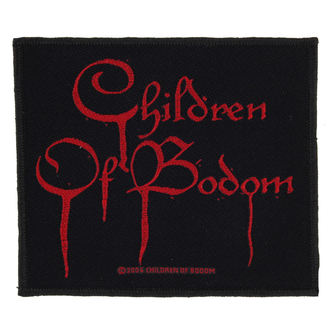 Zakrpa CHILDREN OF BODOM - BLOOD LOGO - RAZAMATAZ, RAZAMATAZ, Children of Bodom