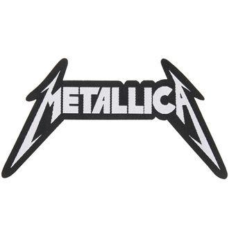 Zakrpa METALLICA - SHAPED LOGO - RAZAMATAZ, RAZAMATAZ, Metallica
