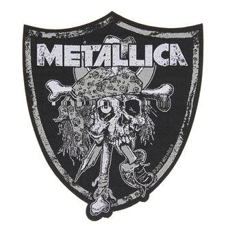 Zakrpa METALLICA - RAIDERS SKULL - RAZAMATAZ, RAZAMATAZ, Metallica