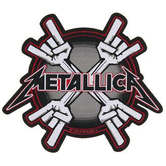 Zakrpa METALLICA - METAL HORNS - RAZAMATAZ, RAZAMATAZ, Metallica