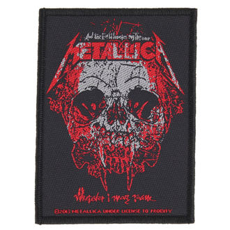 Zakrpa METALLICA - WHEREVER I MAY ROAM - RAZAMATAZ, RAZAMATAZ, Metallica