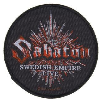 Zakrpa SABATON - SWEDISH EMPIRE LIVE - RAZAMATAZ, RAZAMATAZ, Sabaton