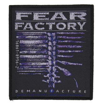 Zakrpa FEAR FACTORY - DEMANUFACTURE - RAZAMATAZ, RAZAMATAZ, Fear Factory