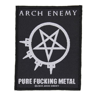 Zakrpa ARCH ENEMY - PURE FUCKING METAL - RAZAMATAZ, RAZAMATAZ, Arch Enemy