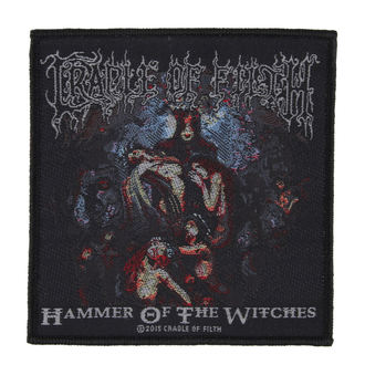 Zakrpa CRADLE OF FILTH - HAMMER OF THE WITCHES - RAZAMATAZ, RAZAMATAZ, Cradle of Filth