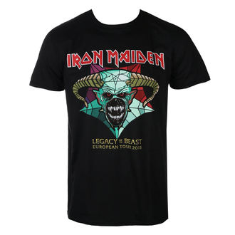 Muška metal majica Iron Maiden - Legacy of the Beast European Tour 2018 - ROCK OFF, ROCK OFF, Iron Maiden