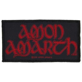Zakrpa AMON AMARTH - RED LOGO - RAZAMATAZ, RAZAMATAZ, Amon Amarth