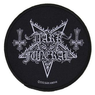 Zakrpa DARK FUNERAL - CIRCULAR LOGO - RAZAMATAZ, RAZAMATAZ, Dark Funeral