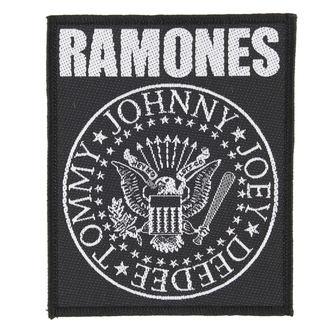 Zakrpa RAMONES - CLASSIC SEAL - RAZAMATAZ, RAZAMATAZ, Ramones