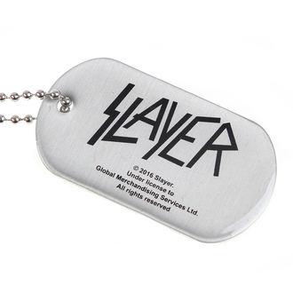 Ogrlica (Identifikacijska pločica) SLAYER - WEHRMACHT SKULL - RAZAMATAZ, RAZAMATAZ, Slayer