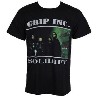 Majica metal muška  GRIP INC. - Solidify - MASSACRE RECORDS, MASSACRE RECORDS, Grip Inc.