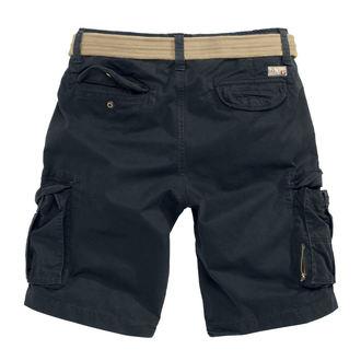 Kratke hlače muške SURPLUS - XYLONTUM VINTAGE - BLACK, SURPLUS