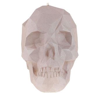 Svijeća Skull - Gray