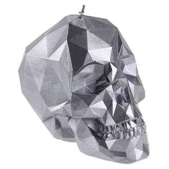 Svijeća Skull - Steel