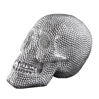 Ukras (lubanja) Skull - Silver