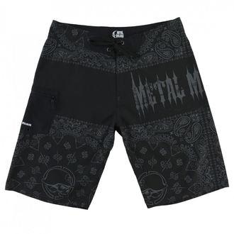 Kratke hlače muške (kupaći) METAL MULISHA - REPRESENT - BLK, METAL MULISHA