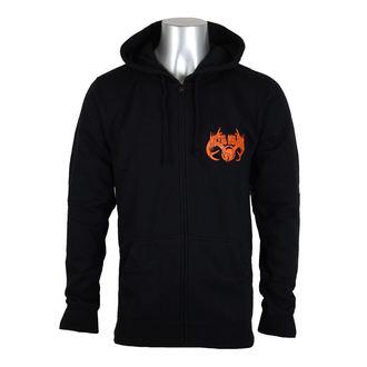 Majica s kapuljačom muška - DUSK - METAL MULISHA - BLK_SP7522000.01